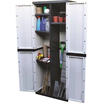 Kingfisher 165 H x 64 W x 37 D cm Garden Storage Cabinet