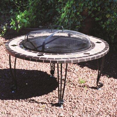 Kingfisher Mosaic Fire Pit