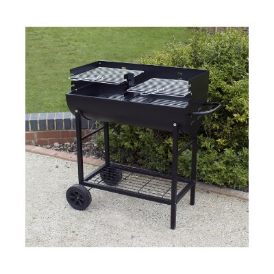 Kingfisher Half Drum Barrel Barbecue
