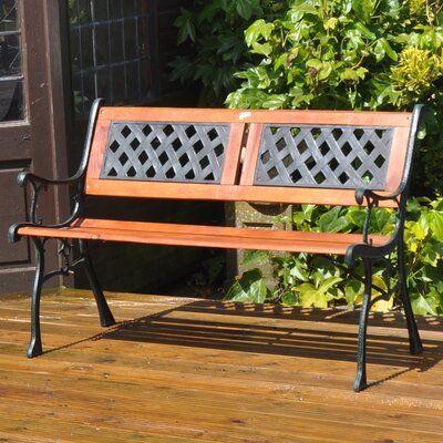 Kingfisher Garden 2 Seater Wooden Park Bench