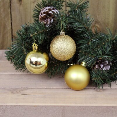 Kingfisher 18 Piece Ball Ornament Set