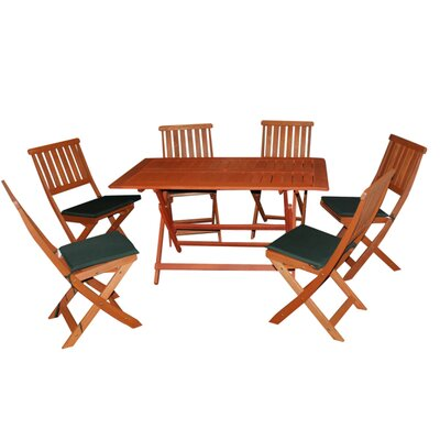 Kingfisher Concord 6 Seater Dining Set