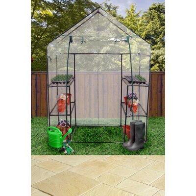 Kingfisher Walk In 1.47m W x .74m D Greenhouse