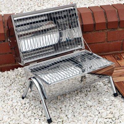 Kingfisher 50cm Portable Barrel Barbecue