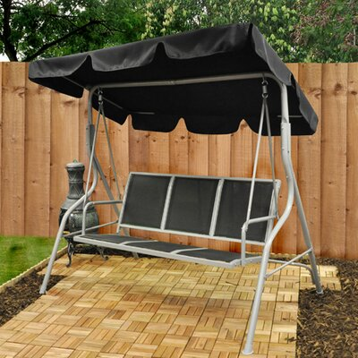 Kingfisher 3 Seater Swinging Hammock Bench with Canopy