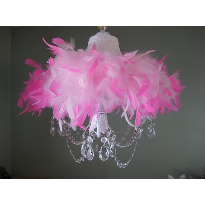 Silly Bear Lighting Sassy and Classy 5 Light Chandelier