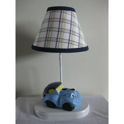 """Silly Bear Lighting Car Transportation 13.5"""" H Table Lamp with Empire Shade"""