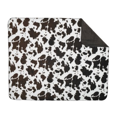Denali Throws  Cow Double-Sided Throw