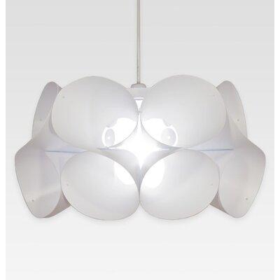 KaiGami 48 cm Lampenschirm Swirl aus Polypropylen