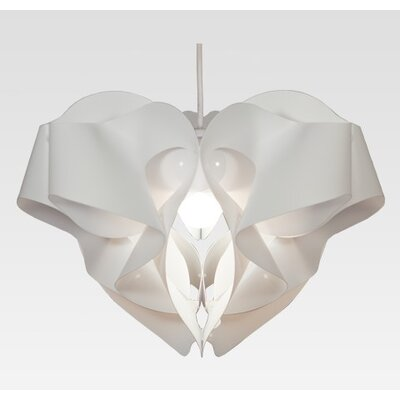 KaiGami 35 cm Lampenschirm Volant aus Polypropylen