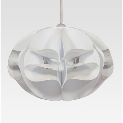 KaiGami 35 cm Lampenschirm Papillion aus Polypropylen