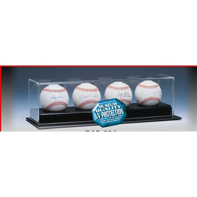Caseworks International Four Baseball Display Case