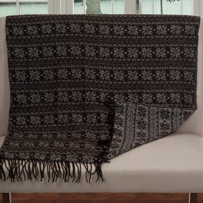 Lavish Home Jacquard Throw Blanket II