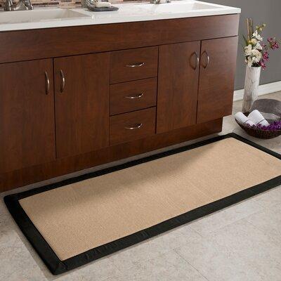 Thorne Fleece Long Memory Foam Bath Rug Color: Black