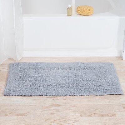 Mayfield Reversible Bath Rug Color: Silver