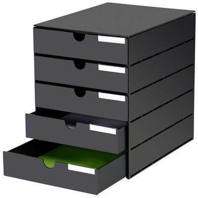 Styro Schubladenbox Styroval Usm mit 5 Schubladen