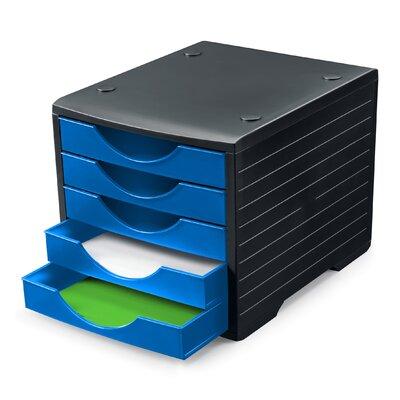 Styro Schubladenbox Greenbox mit 5 Schubladen