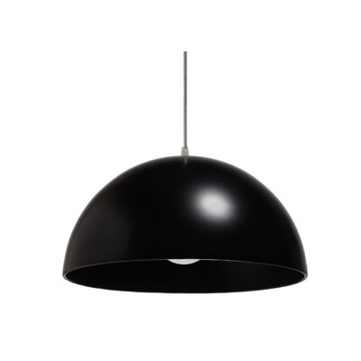 Gallis Fera 1 Light Bowl Pendant