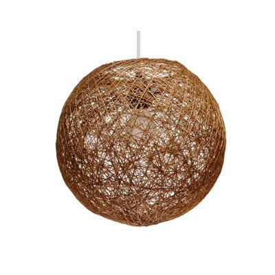 Gallis Rattan 1 Light Globe Pendant
