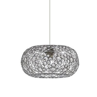 Gallis Crystal Margarita 1 Light Globe Pendant