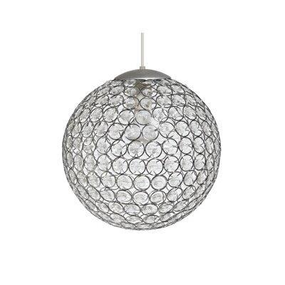 Gallis Crystal 1 Light Globe Pendant