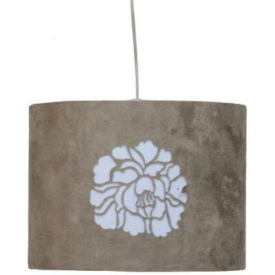 Gallis Flower 1 Light Drum Pendant