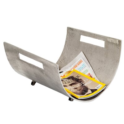 Arc Curve Newspaper Holder