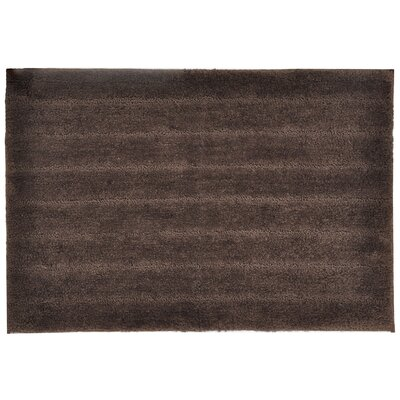 Veruka Bath Rug Color: Chocolate