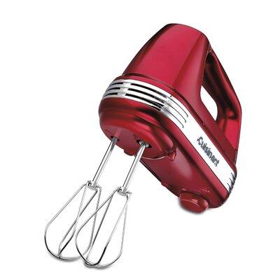 7 Speed Hand Mixer Color: Metallic Red
