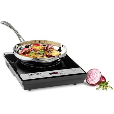 Single Induction Burner for Countertop Use