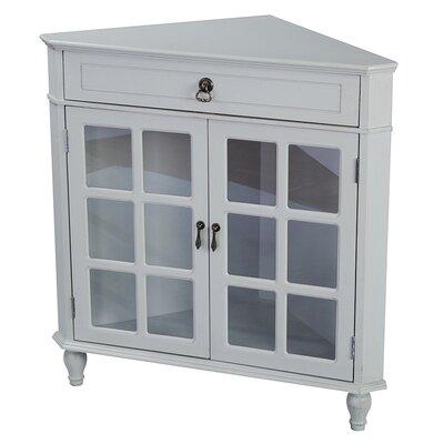 Parina 1 Drawer 2 Door Accent Cabinet Color: Grey