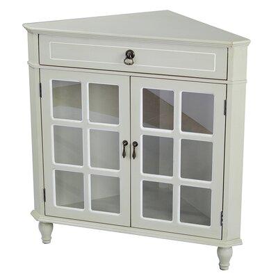Parina 1 Drawer 2 Door Accent Cabinet Color: Beige