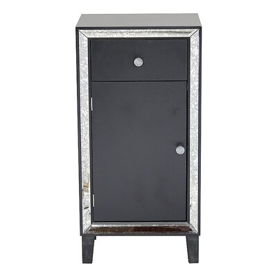 Avery Accent Cabinet Color: Black