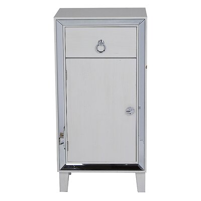 Avery Accent Cabinet Color: Antique White