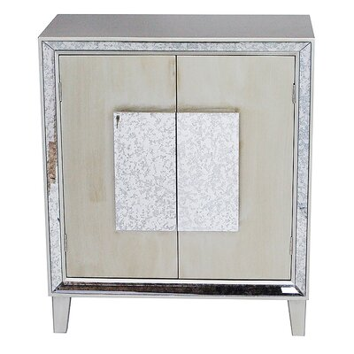 Avery Accent Cabinet Color: Champagne