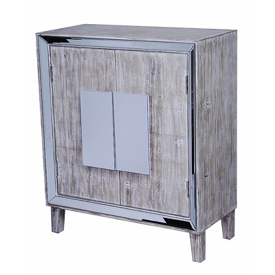 Avery Accent Cabinet Color: White Wash