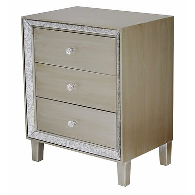 Avery Accent Chest Color: Champagne