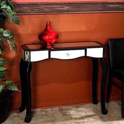 Katrina Console Table Color: Black