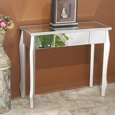 Amelia Console Table Color: Silver