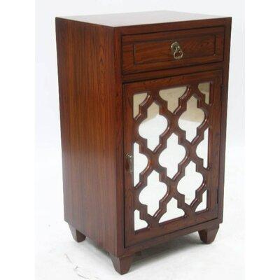 Accent Cabinet Color: Wood Grain