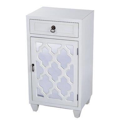 Accent Cabinet Color: Antique White
