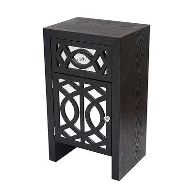 Accent Cabinet Color: Black