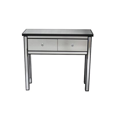 Avery Console Table Color: Black