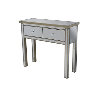 Avery Console Table Color: Champagne