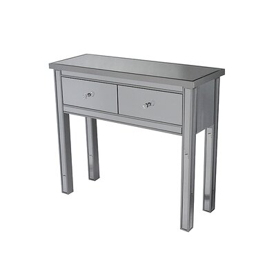 Avery Console Table Color: Silver