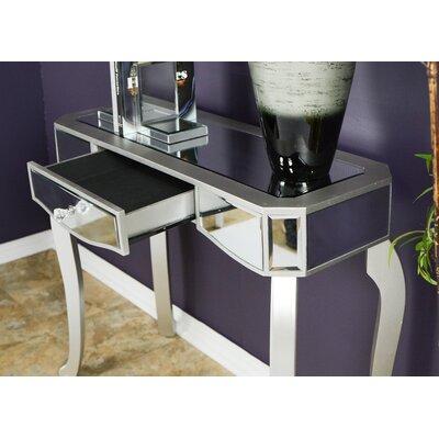 Katrina Console Table Color: Silver