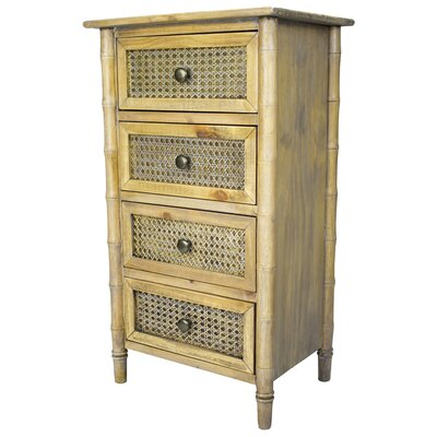 Wallace 4 Drawer Accent Chest