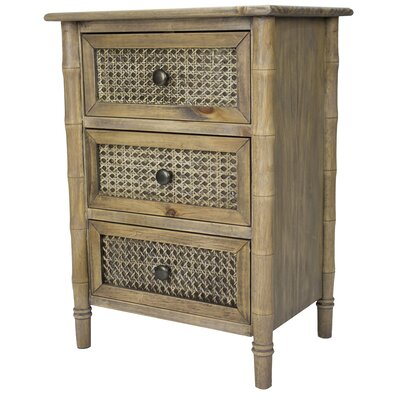 Wallace 3 Drawer Accent Chest