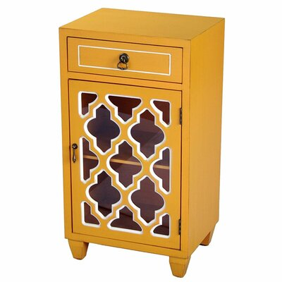 Accent Cabinet Color: Yellow