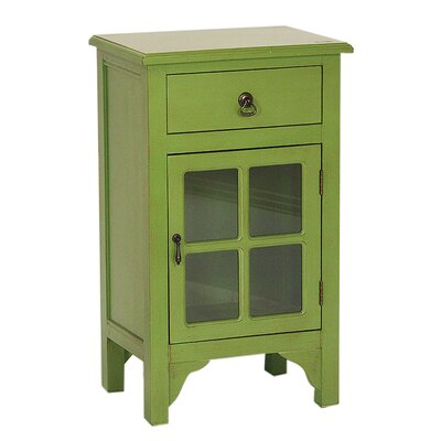 Atchley 1 Drawer Accent Cabinet